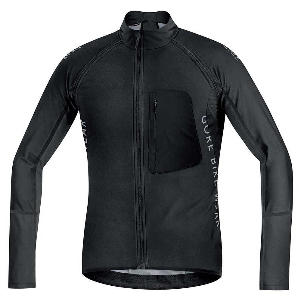 Gore bike wear Alp-X Pro Windstopper Softshell Zip Off Black afe009813