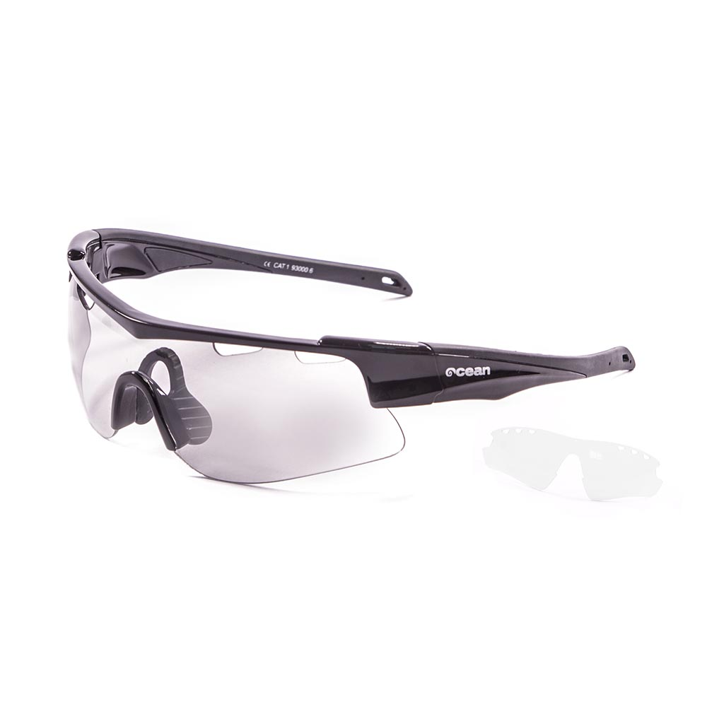 647a1f7c57 Ocean sunglasses Alpine - Black buy and offers on Bikeinn