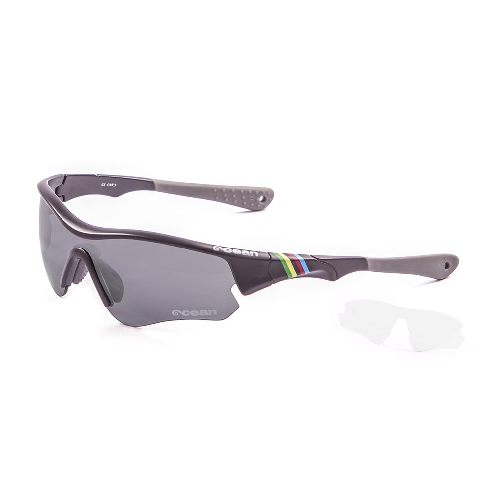 3777cddf97 Ocean sunglasses Iron Black buy and offers on Bikeinn