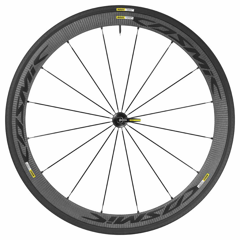Mavic Cosmic Carbon 40 Elite Black Front