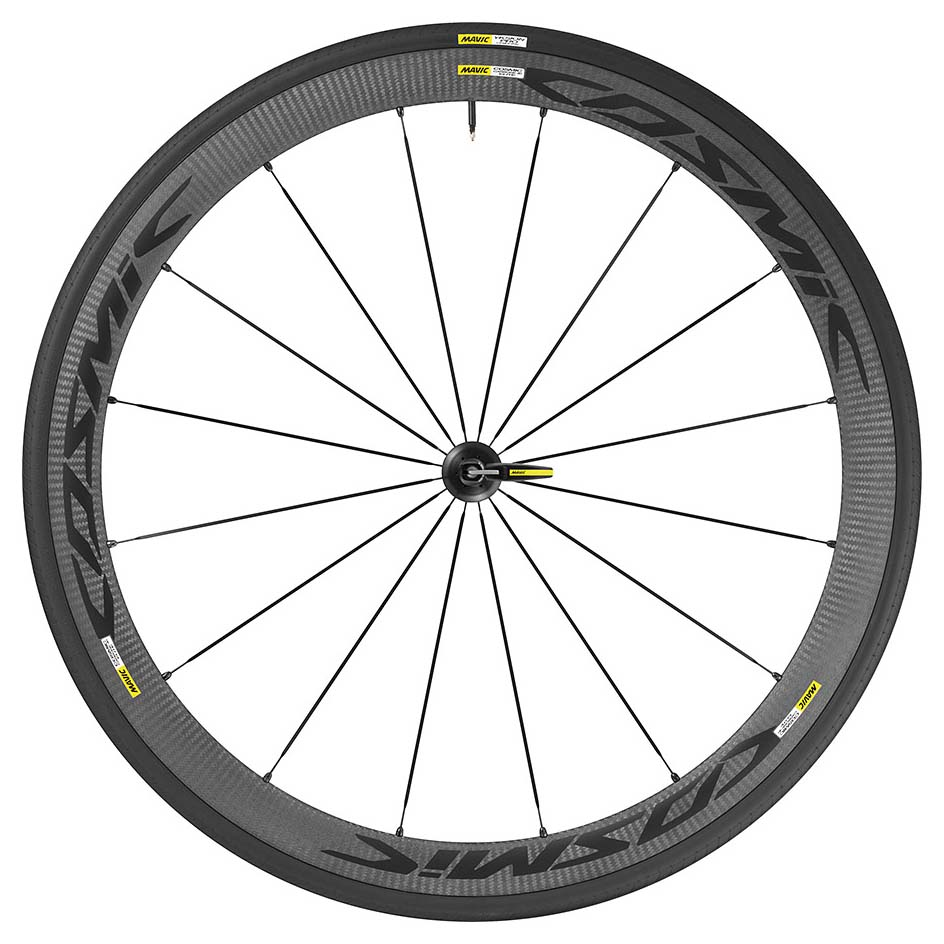 Mavic Cosmic Carbon 40 Elite Black Pair