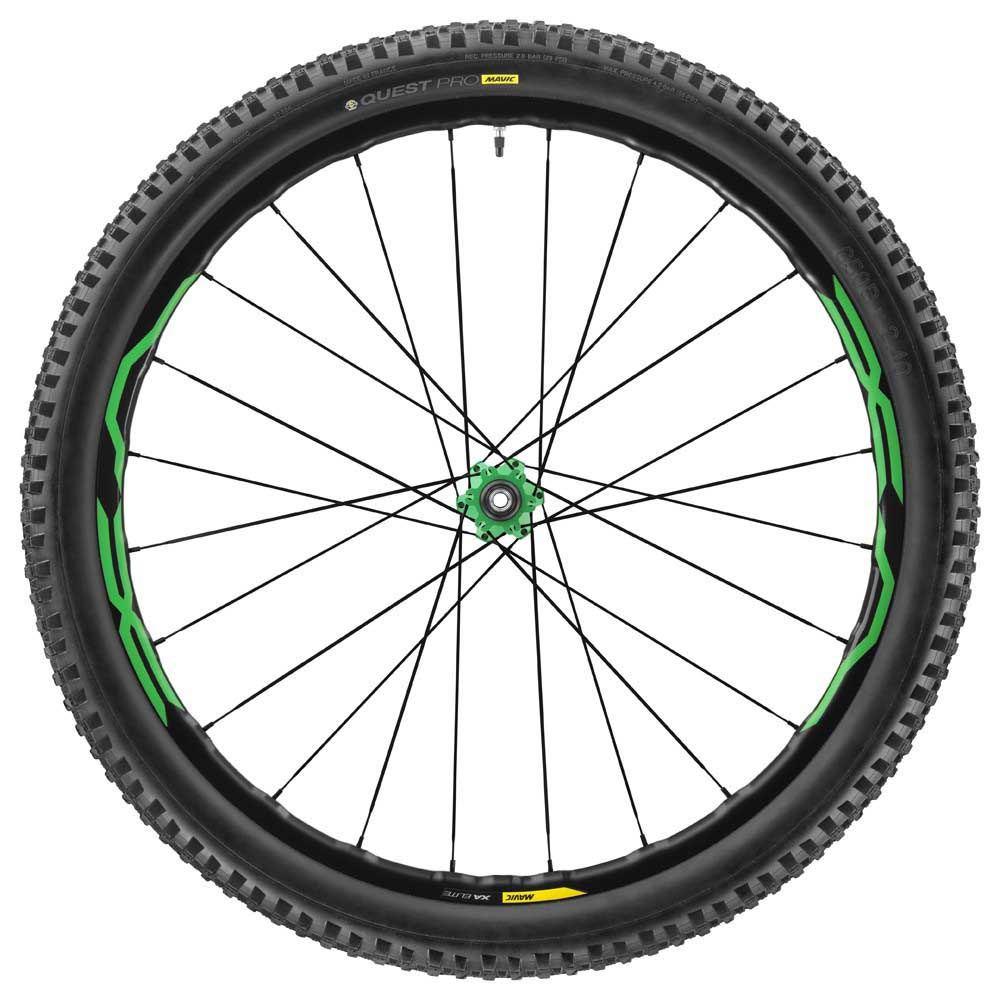 Mavic XA Elite 27.5 Green WTS Rear