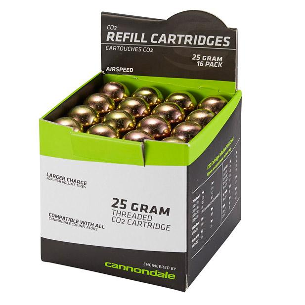 Cannondale Co2 Cartridge 16 Pack 25gr