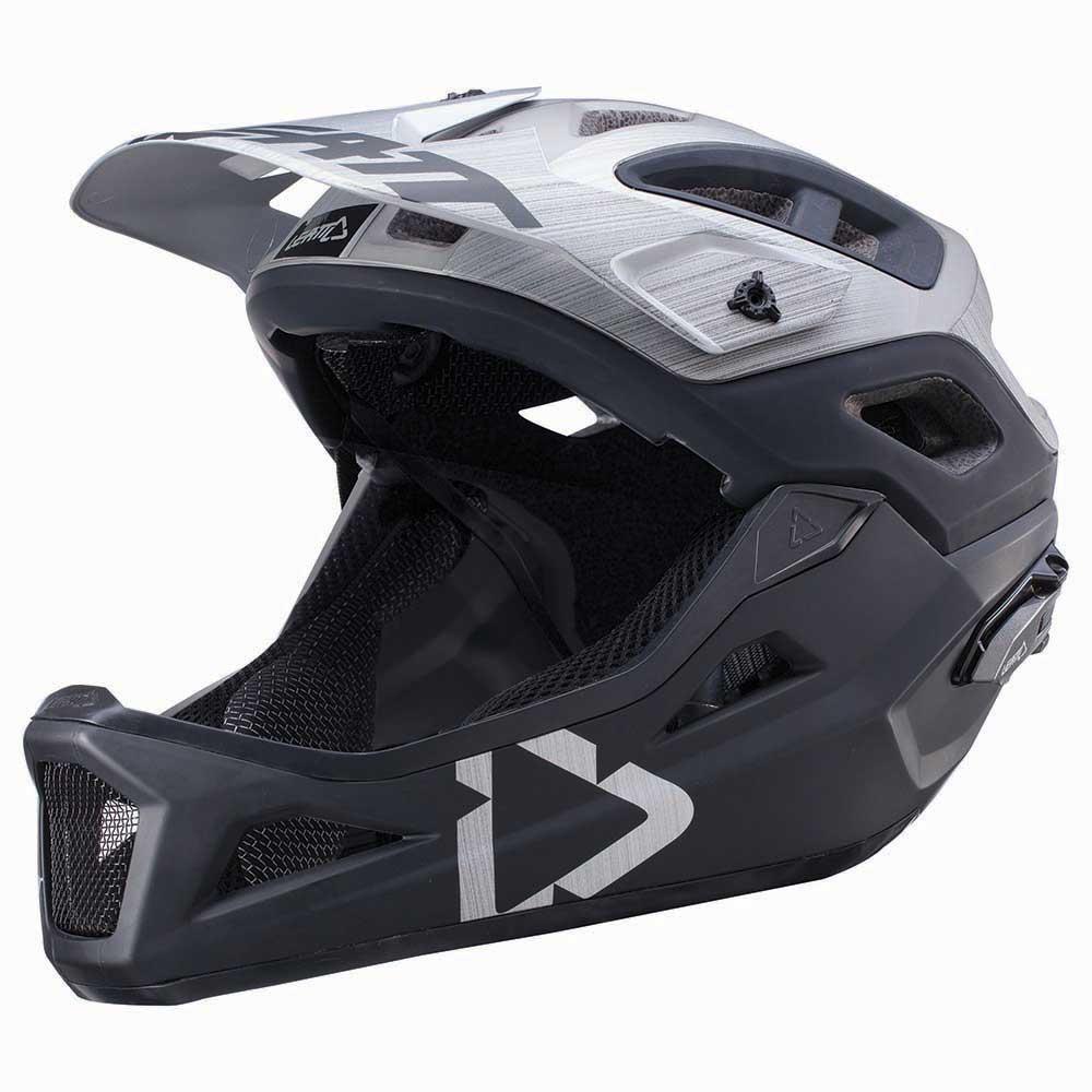 Fullface helmet LEATT DBX 3.0 ENDURO V2 2017 with detachable chin/front part - Now on sale