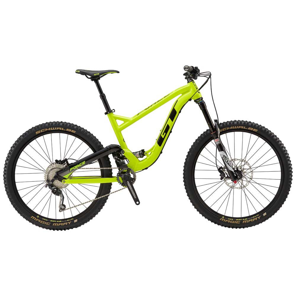 Gt Force Alu Expert 27.5 Yellow buy and offers on Bikeinn 27e479f25