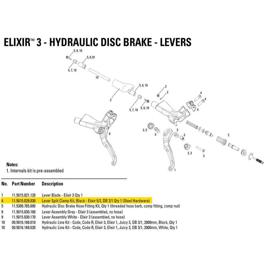 deragliatori-avid-lever-split-clamp-kit-elixir-5-3-db-3-1-level-t