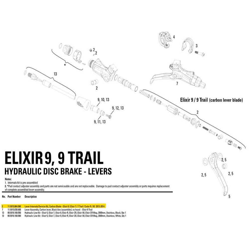 avid-lever-internals-service-kit-elixir-9-7-7-trail-elixir-code-r-x0-carbon