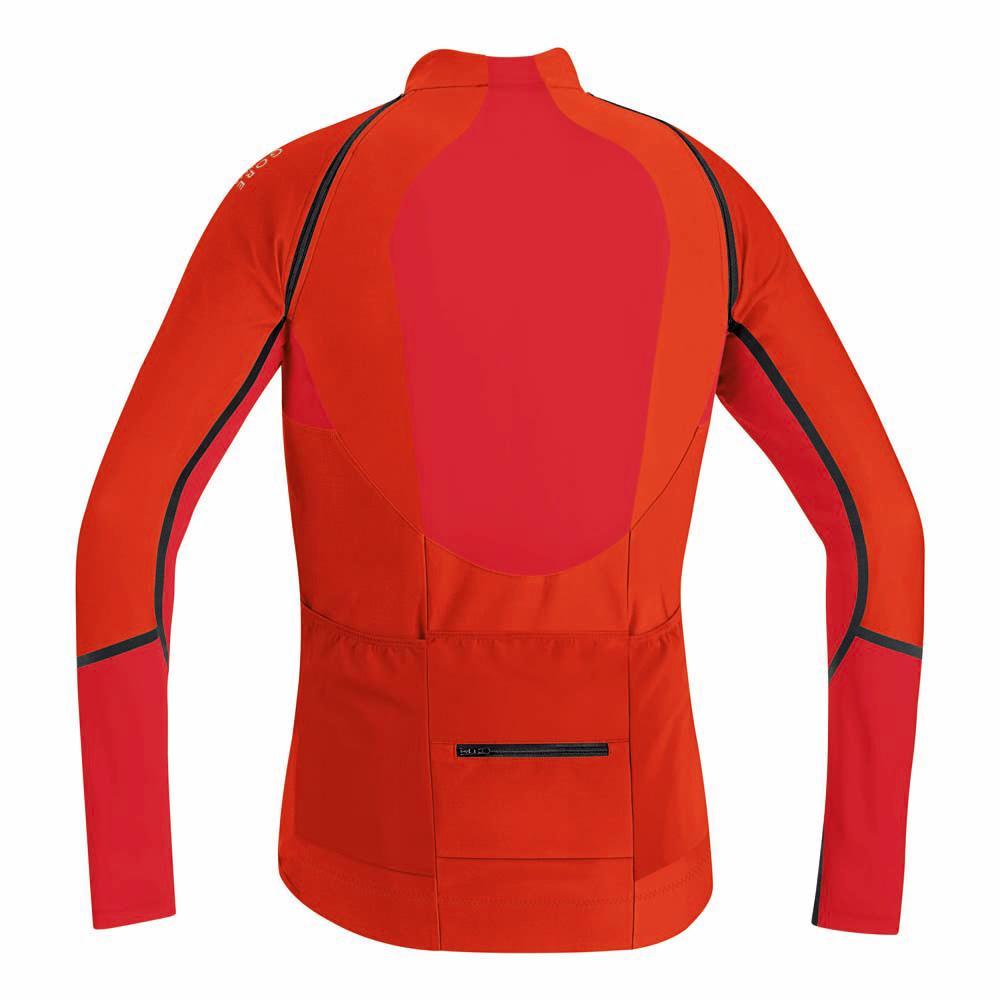 d3fd01087 Gore bike wear Alp X Pro Windstopper Soft Shell Zip Off Jersey Orange