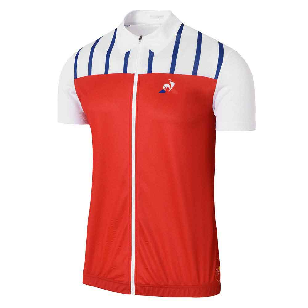Le coq sportif Tdf Dedicated Jersey Red b2b40ca23