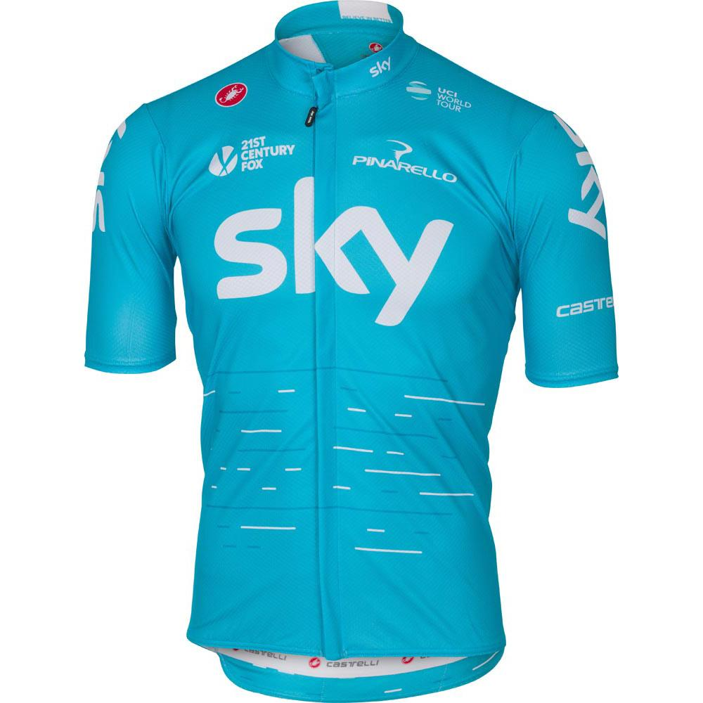 Castelli Sky Podio Jersey Blue buy and offers on Bikeinn 33da90e27