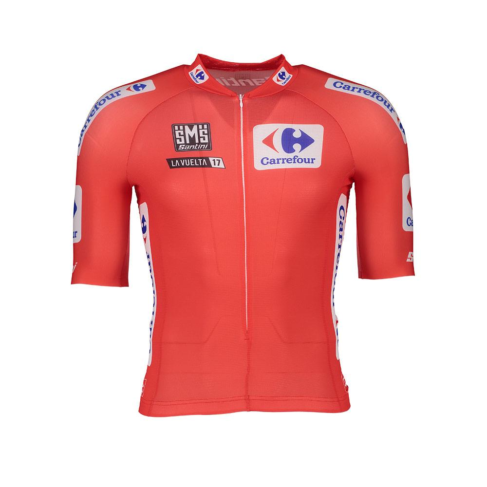 2f964bbc4 Santini Leader La Vuelta 2017 Red buy and offers on Bikeinn