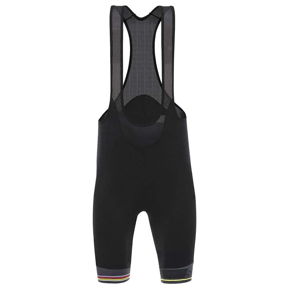 6a7c020c Santini UCI Rainbow Bibshort Black buy and offers on Bikeinn