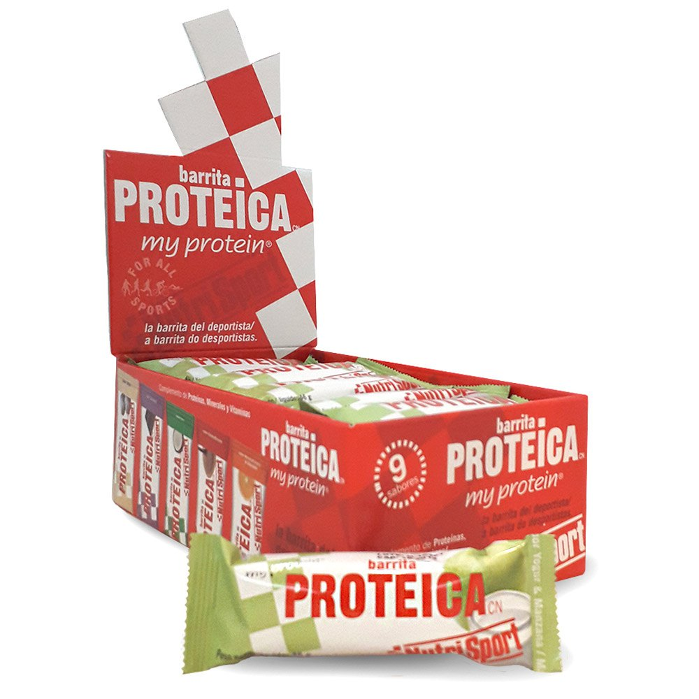 Nutrisport Yogurt Manzana Bar Caja 24 Unidades