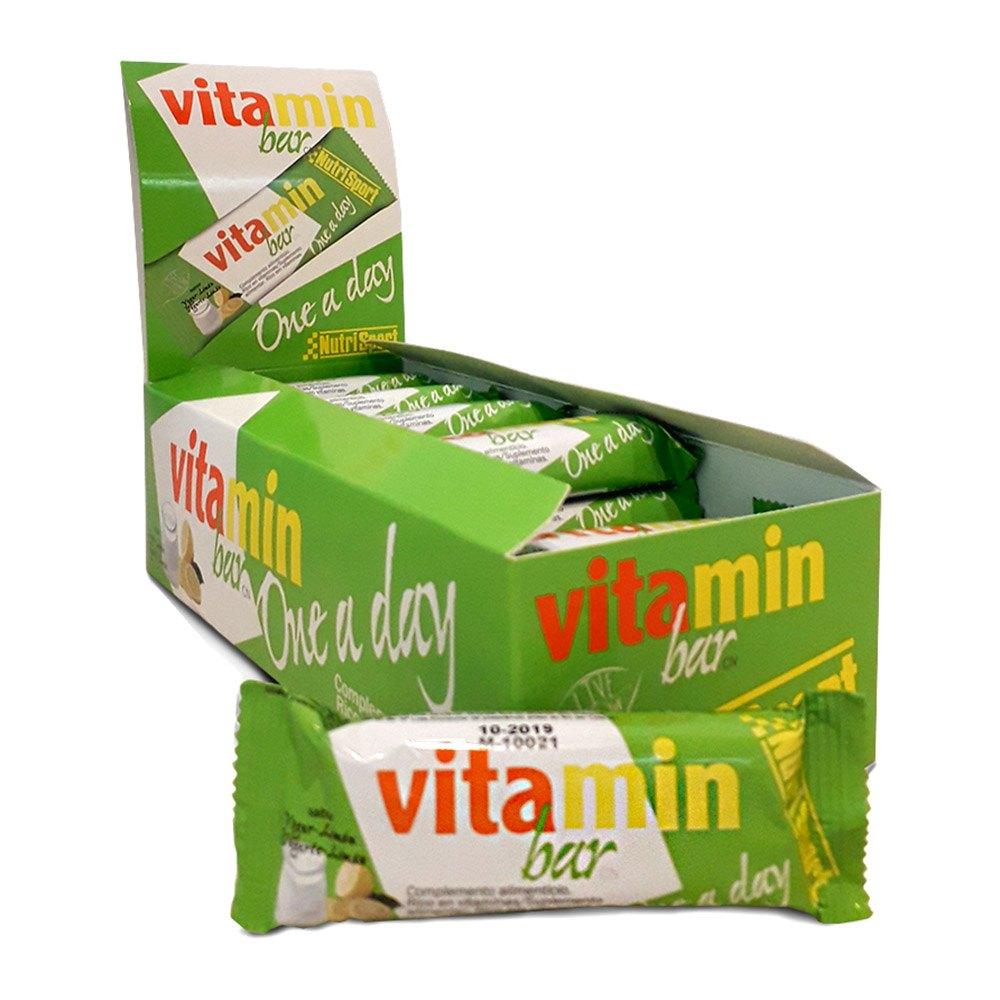 Nutrisport Vitamin Yogurt Limón Bar Caja 20 Unidades
