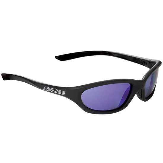 Salice 009RW Sonnenbrille, Schwarz
