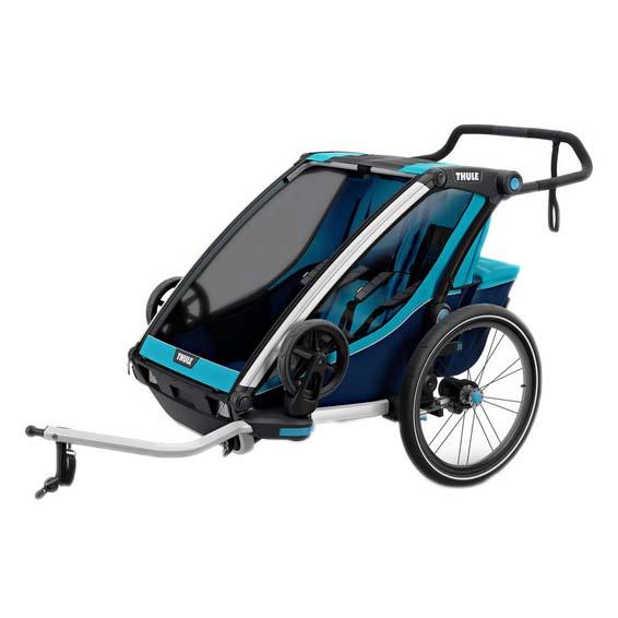 Remolques y carritos Thule Chariot Cross 2 + Kit De Bici