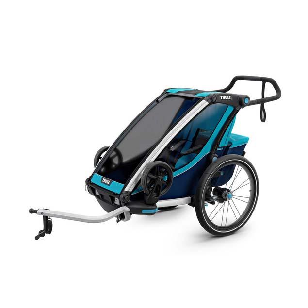Remolques y carritos Thule Chariot Cross 1 + Kit De Bici
