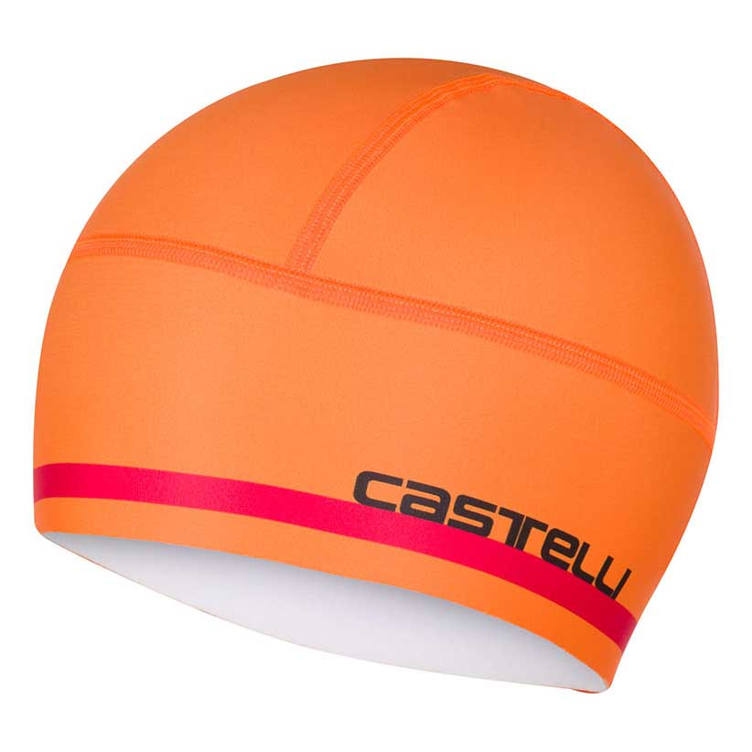 dc520c05835 Castelli Arrivo 2 Thermo Skully Orange buy and offers on Bikeinn