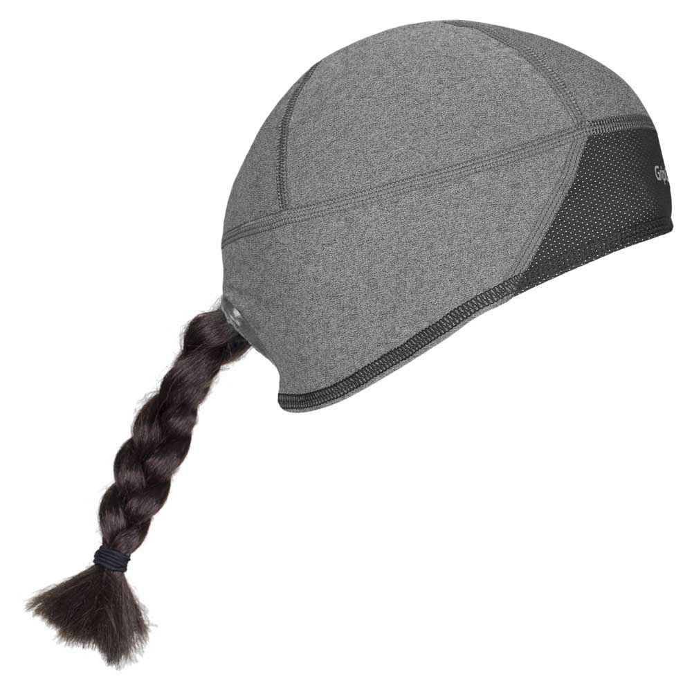 bd32322cdfd GripGrab Windproof Skull Cap Grey buy and offers on Bikeinn