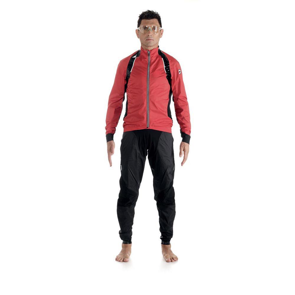Assos rS.sturmPrinz EVO rain Jacket National Red