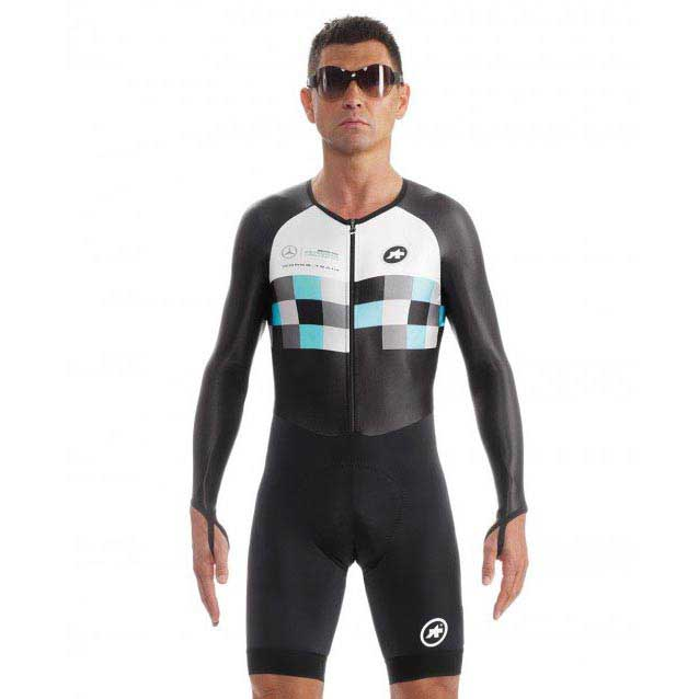 Assos Works Team Chronosuit S7 Black buy and offers on Bikeinn 7fdb3a936