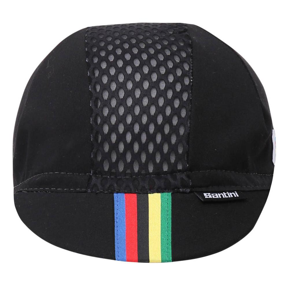 d675208c1565 Santini UCI Raingow Racing Black buy and offers on Bikeinn