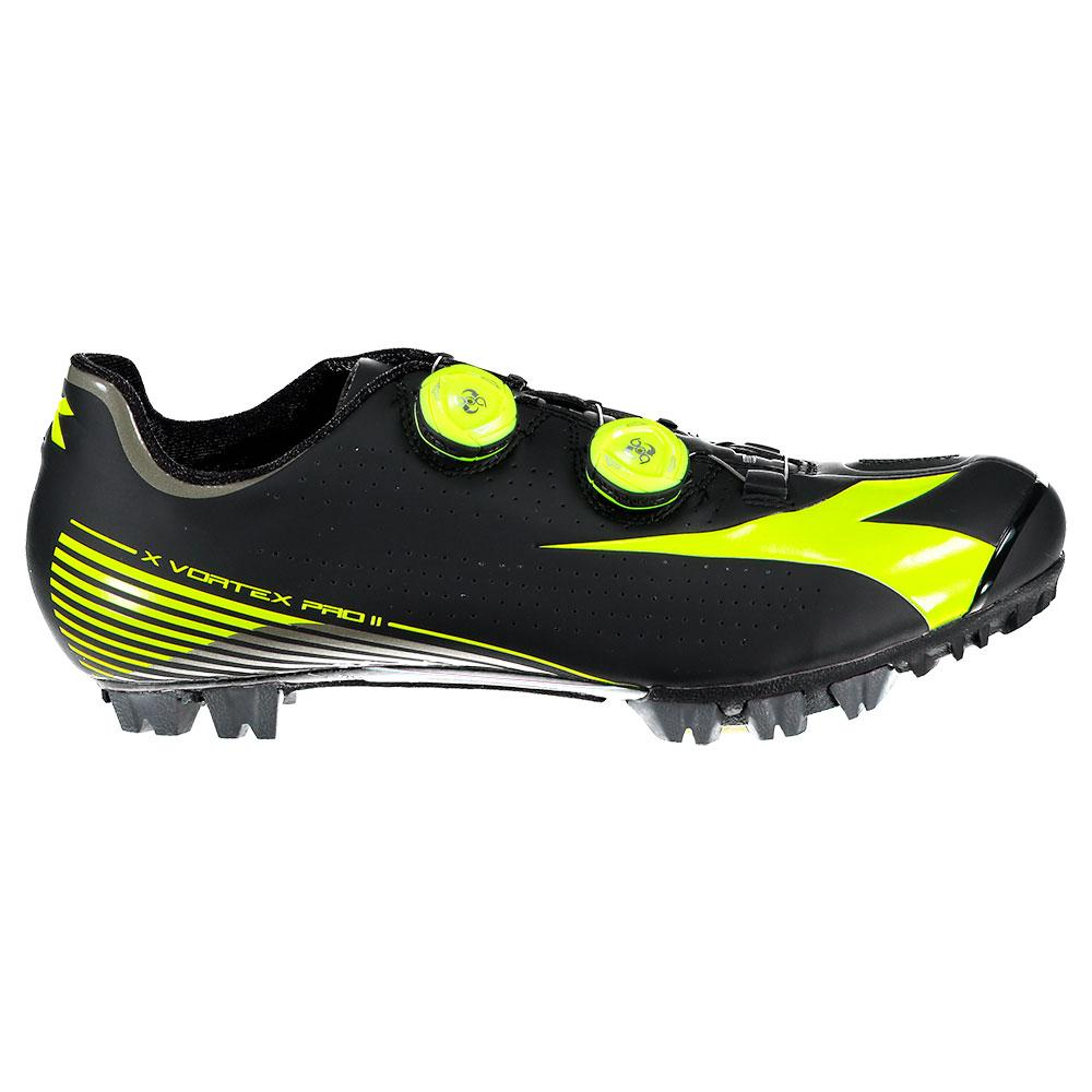 release date: 1217b 0525e Diadora X-Vortex Pro II Yellow buy and offers on Bikeinn