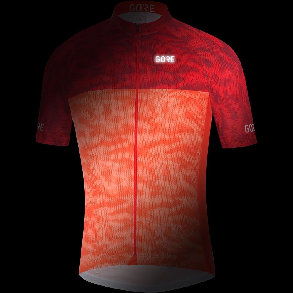 GORE® Wear C3 Cameleon Jersey Red buy and offers on Bikeinn 127c056b2