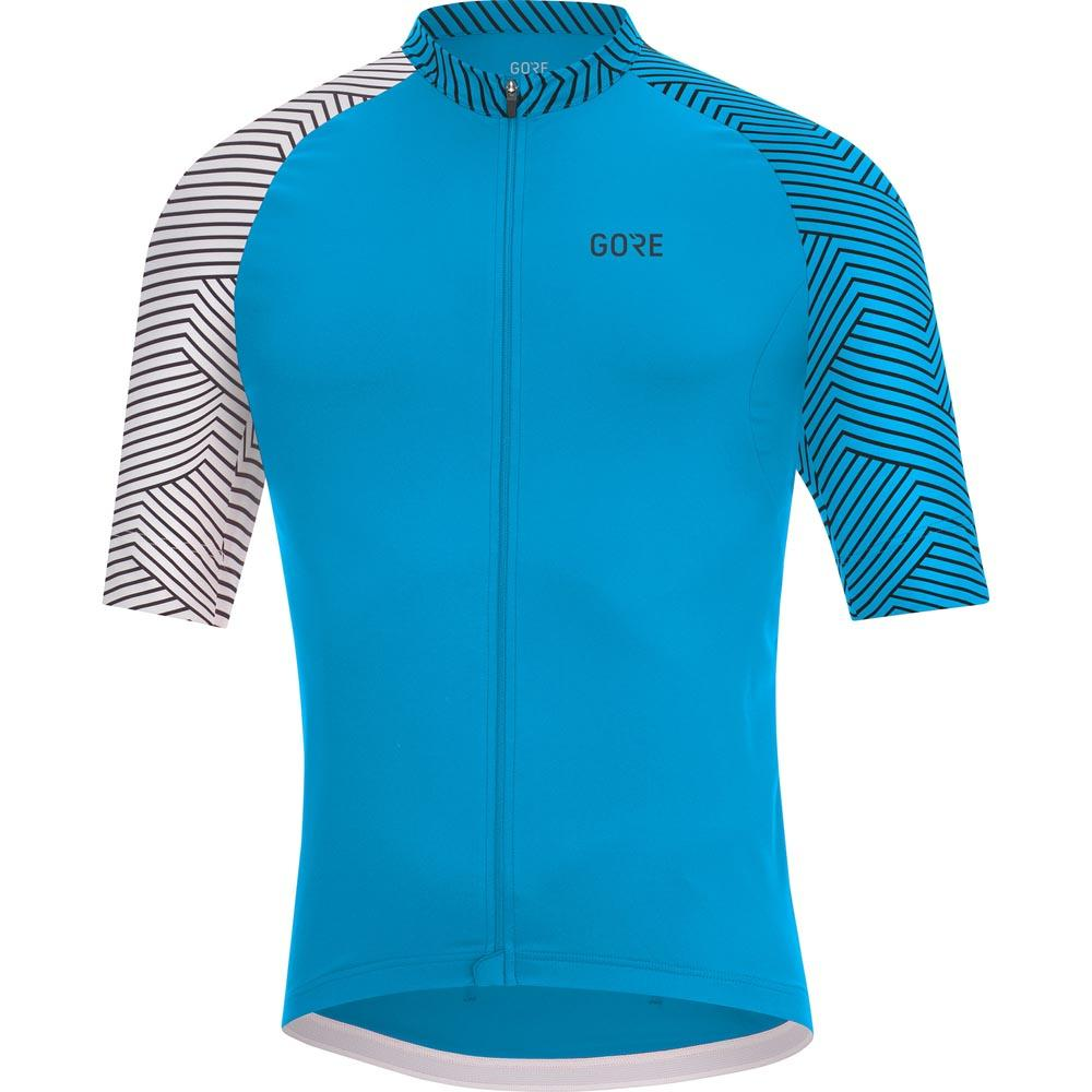 5ff6acf28 GORE® Wear C5 Optiline Jersey Blue buy and offers on Bikeinn