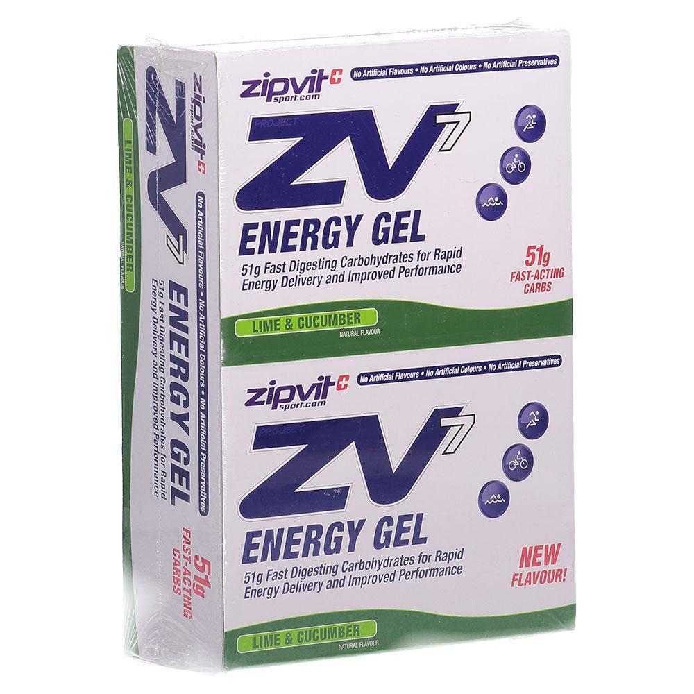 Suplementación deportiva Zipvit Zv7 Energy Gel 60ml X 24 Units