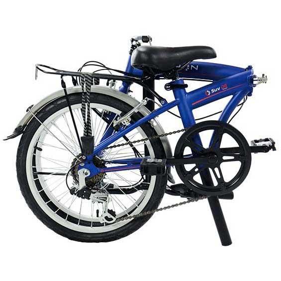 5d9103566e5 Dahon Suv D6 Blue buy and offers on Bikeinn