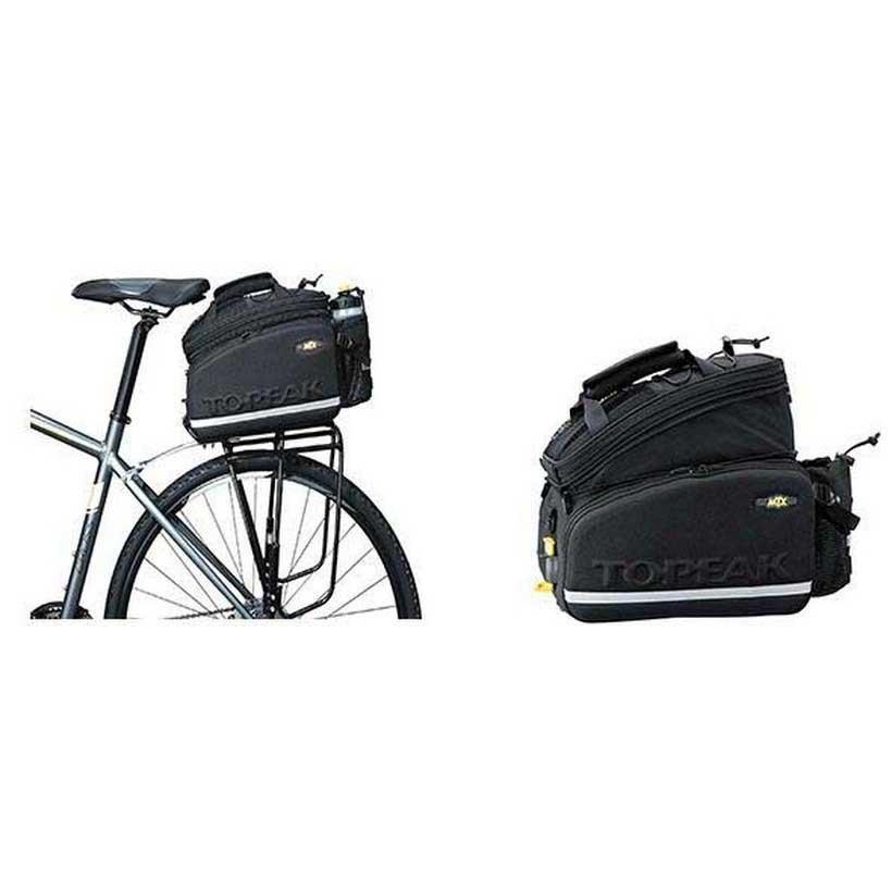 Topeak MTX Trunk Bag DX Quick Track Rear Back Bike Bicycle Black NEW!