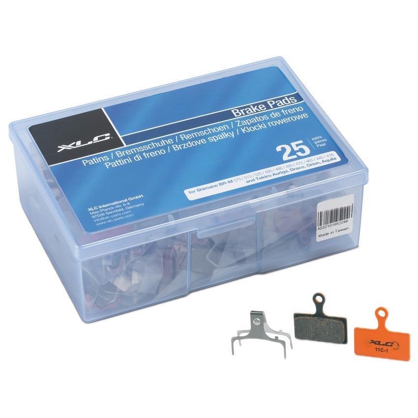 Xlc Brakes Disc Brake Pads Shimano Br M985 25 Pairs