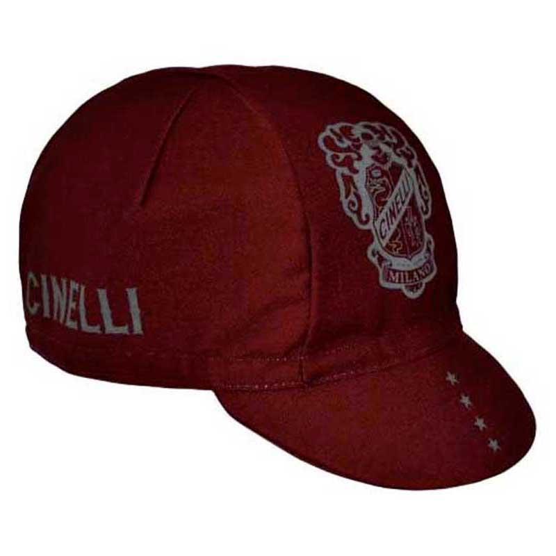 Couvre-chef Cinelli Crest Burgundy Casquette