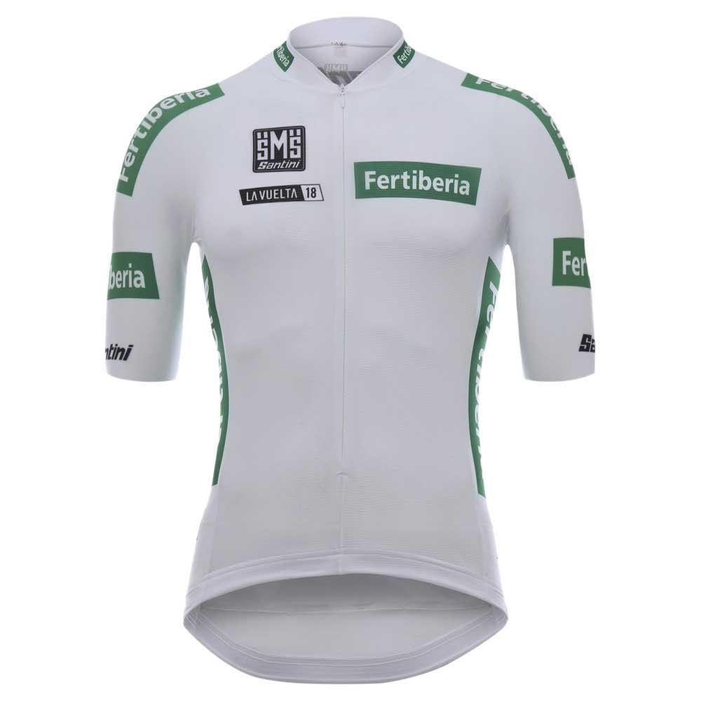 Santini White jersey La Vuelta 2018 White 0cb2e6953
