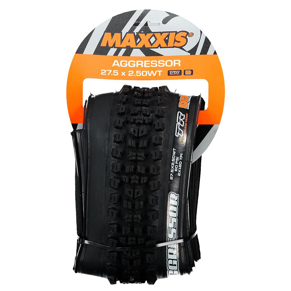 Maxxis TR tyre Aggressor 27.5 x 2.50WT 60 TPI Folding Dual Compound ExO