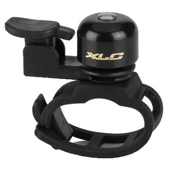 Noir XLC Mini Bicycle Bell Dd-m18 Pieces de Velo Mixte 21 mm