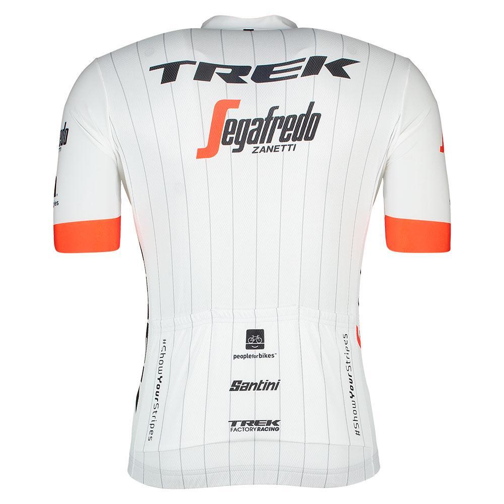 Santini Trek Segafredo 2018 - White buy and offers on Bikeinn 6f3a25036