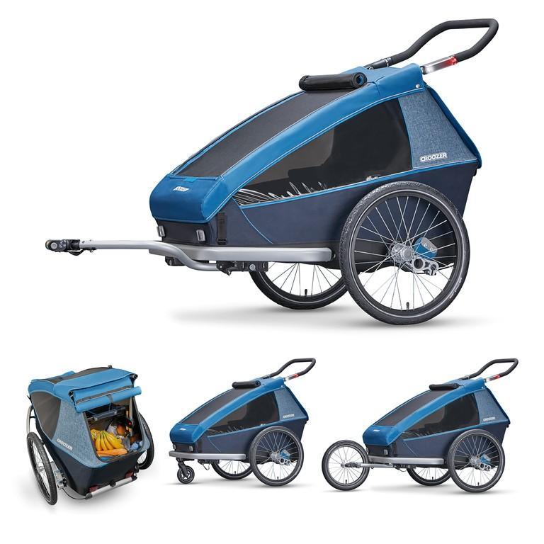 Remolques y carritos Croozer Kid Plus For 2
