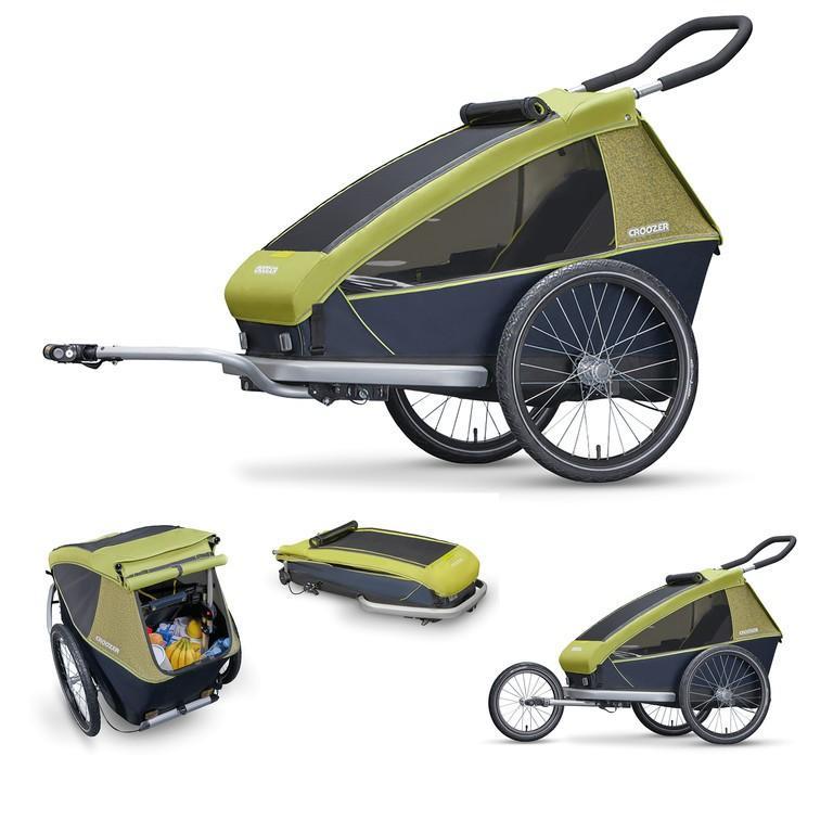 Aanhangwagens en trolleys Croozer Kid For 1