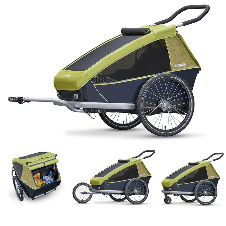Aanhangwagens en trolleys Croozer Kid For 2