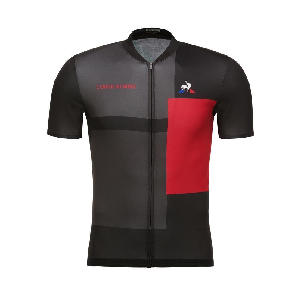 Le coq sportif Cycling Jersey L´Enfer Du Nord Black d59216e7d