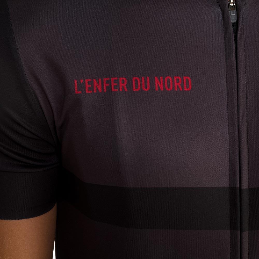 3b4f60853 Le coq sportif Cycling Jersey L´Enfer Du Nord Black