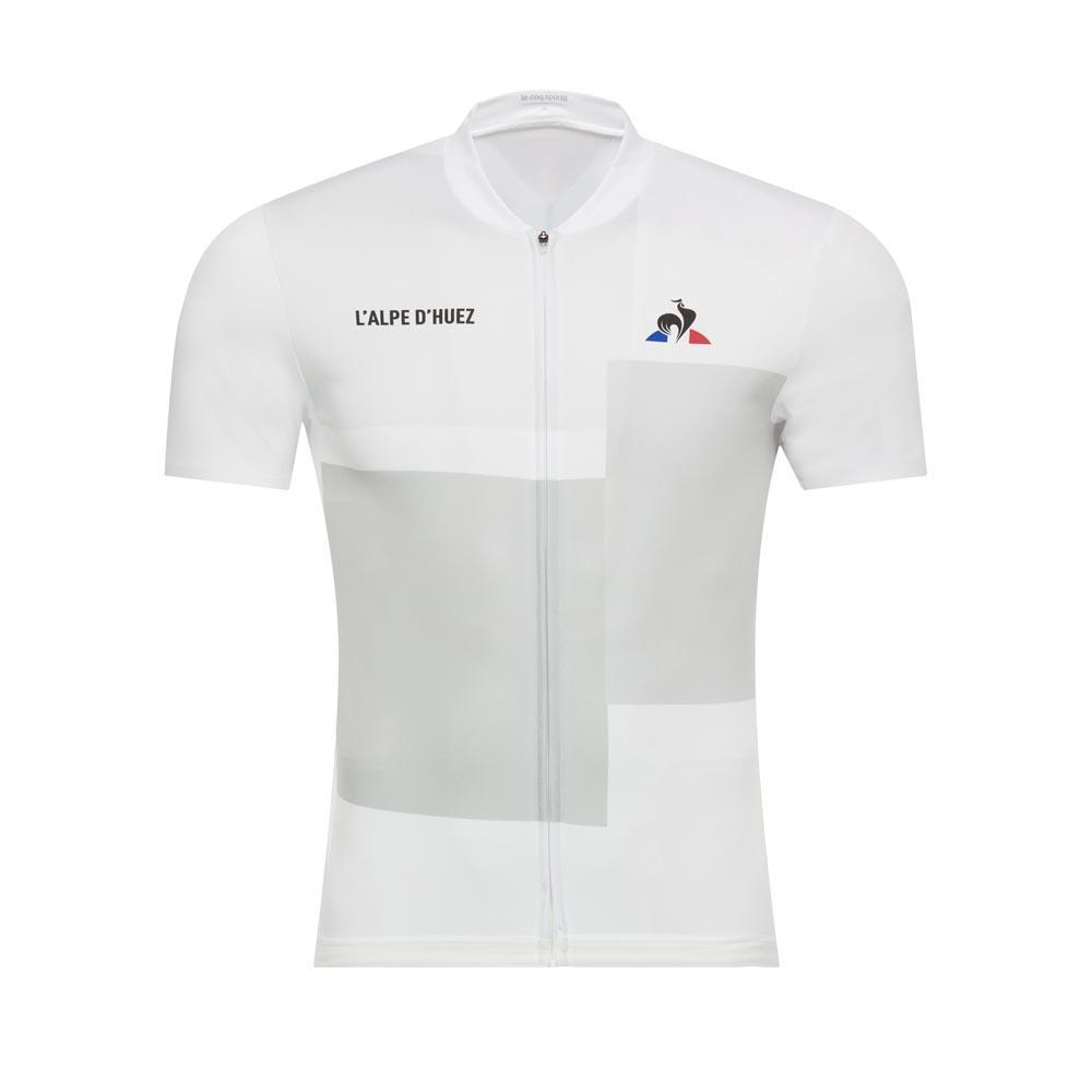 Le coq sportif Cycling Jersey Alpes D´Huez White 0daecf56a