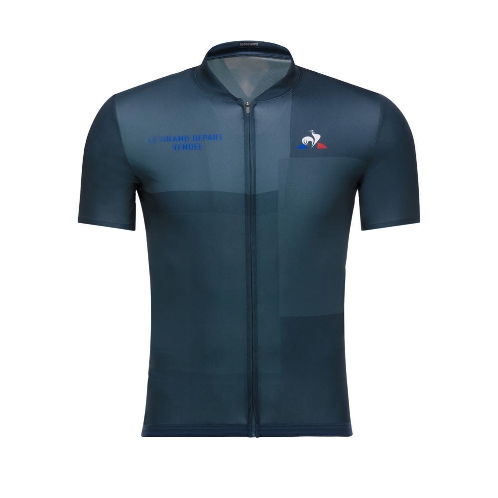 Le coq sportif Cycling Jersey Le Grand Départ Vendée Blue 67e1dcfaa