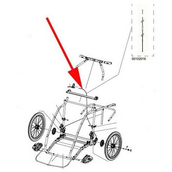 Ersatzteile Thule Brake Cable Chariot Cx2 2013
