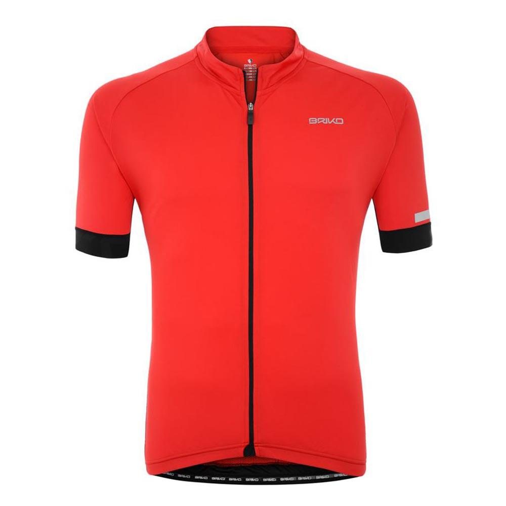 Briko Classic Side Jersey Red buy and offers on Bikeinn 69fca6bd69c