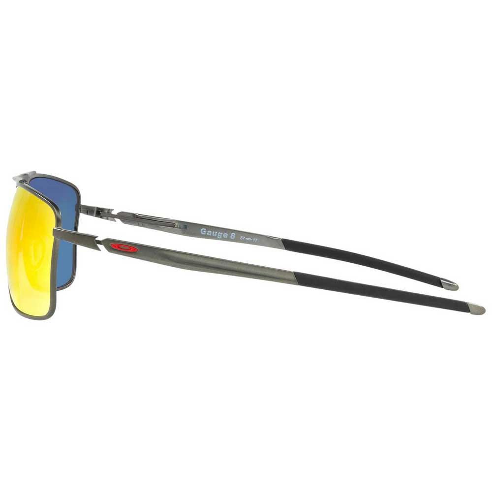 Oakley Gauge 8 >> Oakley Gauge 8 M Plateado Bikeinn