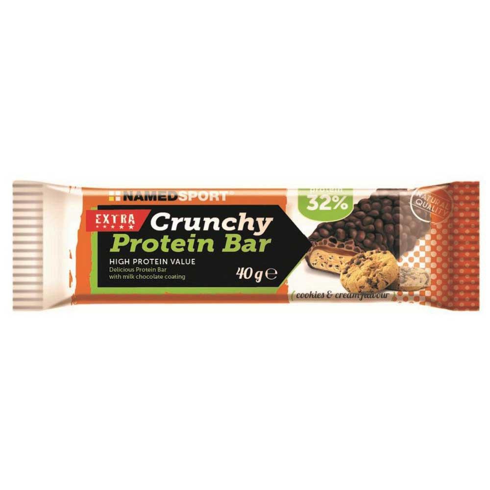 Suplementación deportiva Named-sport Crunchy 40gr X 24 Bars
