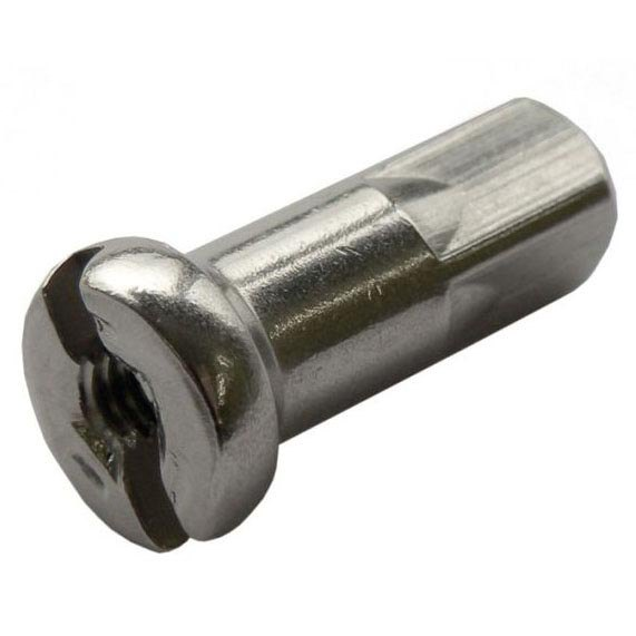 jantes et rayons Buchel Nipple 2.34 Mm 100 Units 2.34 x 14 mm Silver